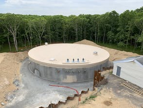 Amagansett, NY Water Storage Tank Preload